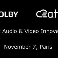 Dolby / ATEME Seminar in Paris